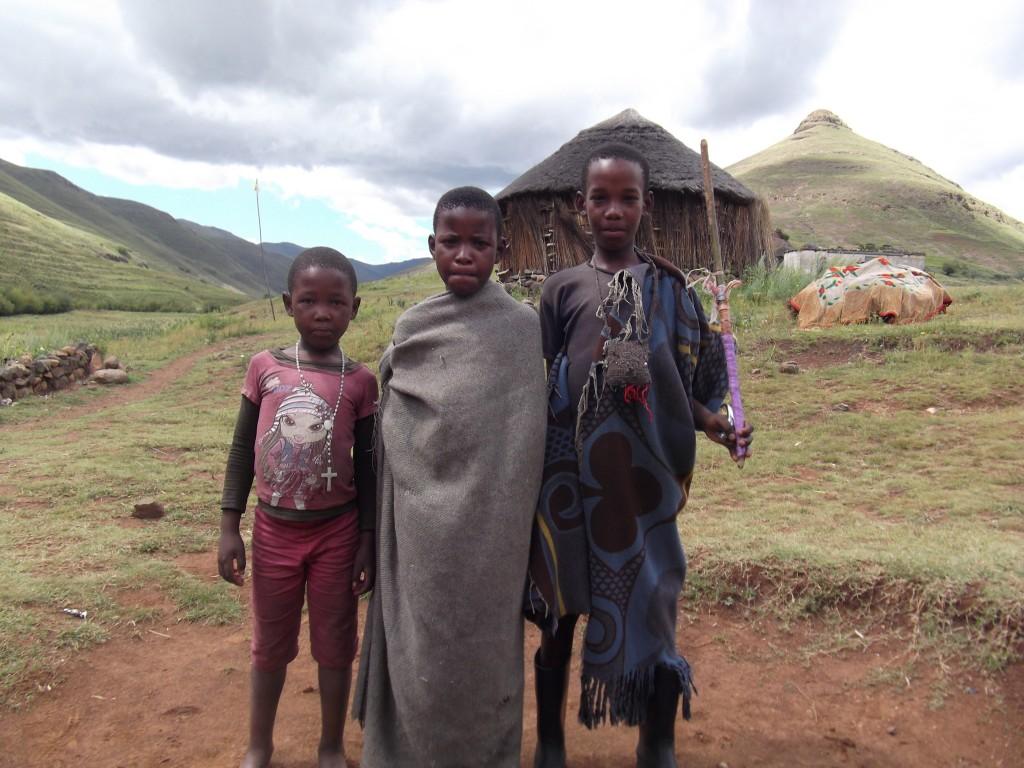 Basotho children