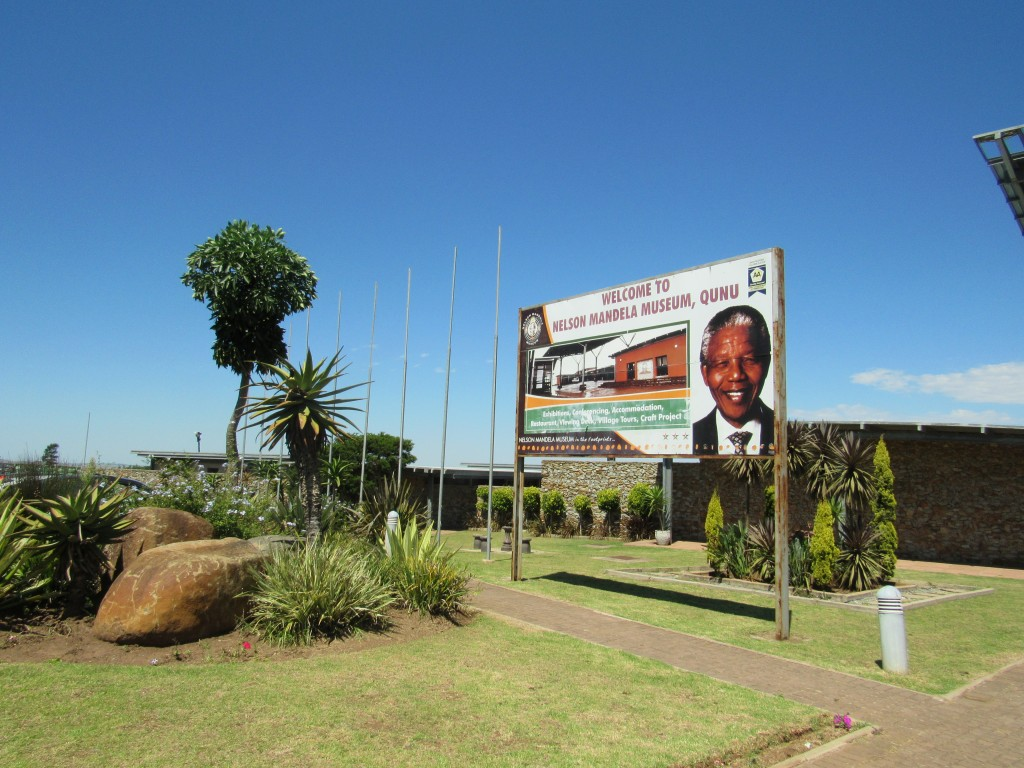 The Nelson Mandela Museum in Qunu