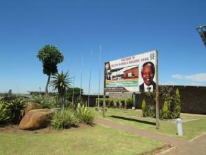 The Nelson Mandela Museum in Qunu