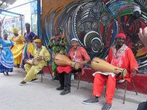 Rumba at Callejon de Hammel, Havana