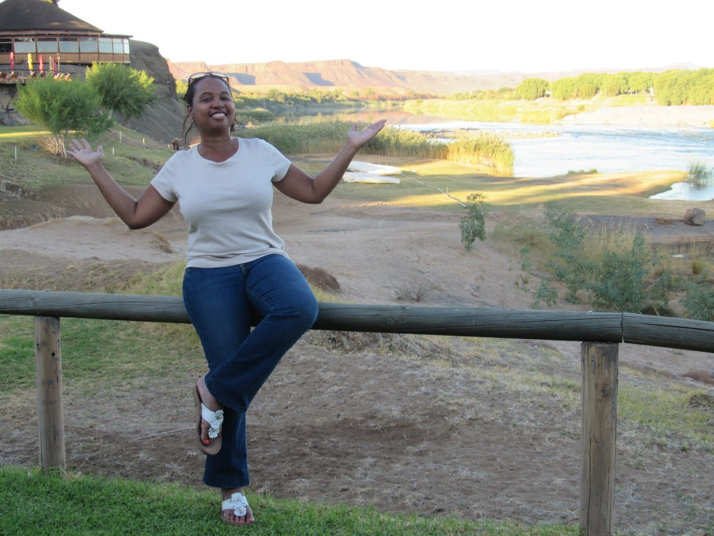 Chilling on the Orange River