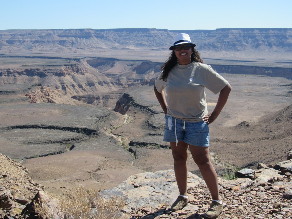 Me at Fish River Canyon