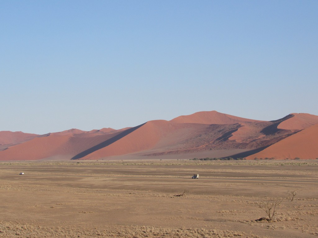 Sand dunes at Namib-Naukluft Park