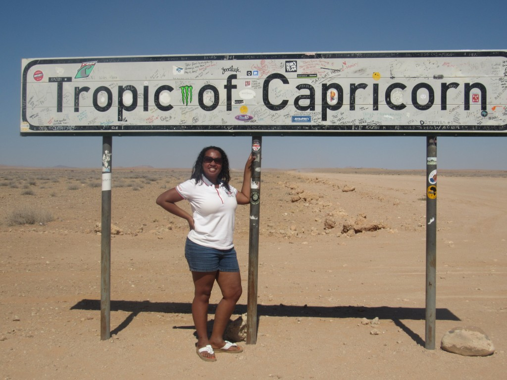 Me at the Tropic of Capricorn