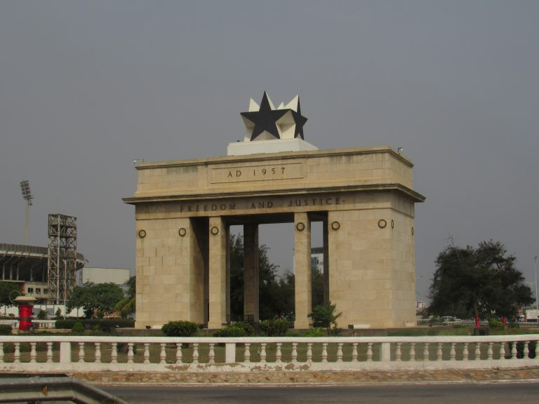 Black Star Square in Accra