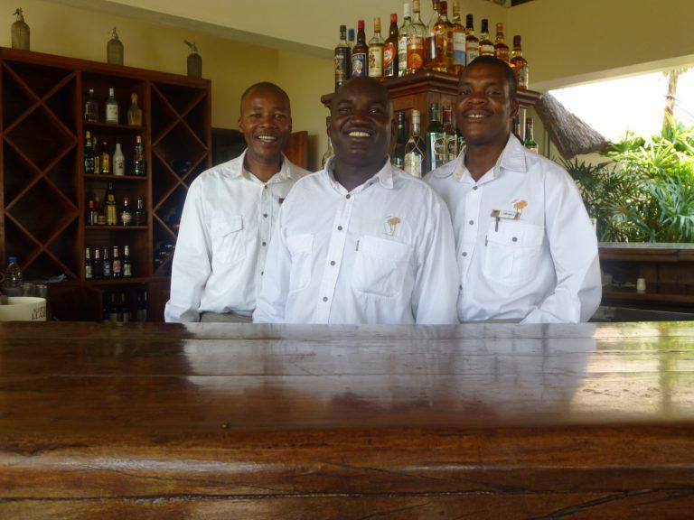 Zimbabwean hotel staff